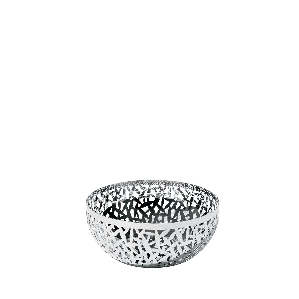 Alessi-CACTUS! 18/10 stainless steel perforated fruit bowl