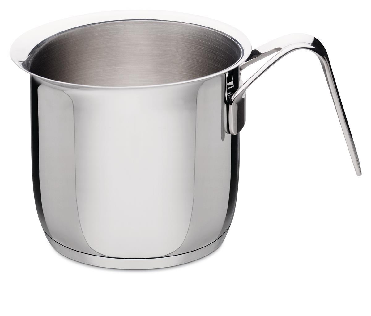Alessi-Pots&Pans Bollilatte in acciaio inox 18/10 adatto a induzione
