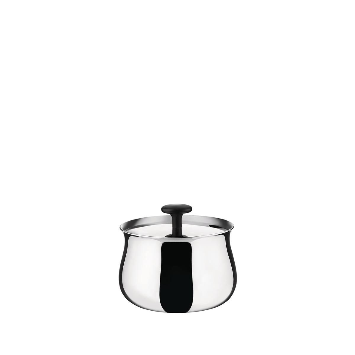 Alessi-Cha Sugar bowl in 18/10 stainless steel mirror polished