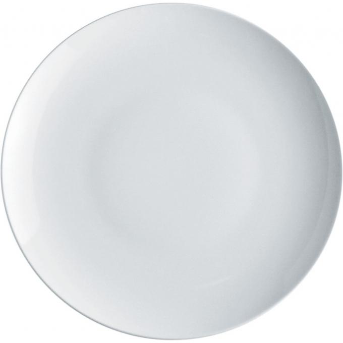 Alessi-Mami Runder Servierteller aus weißem Porzellan
