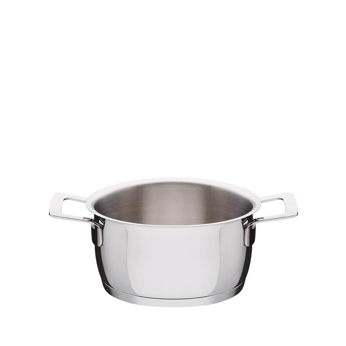 Alessi-Pots & Pans Auflauf aus 18/10 Edelstahl zur Induktion geeignet