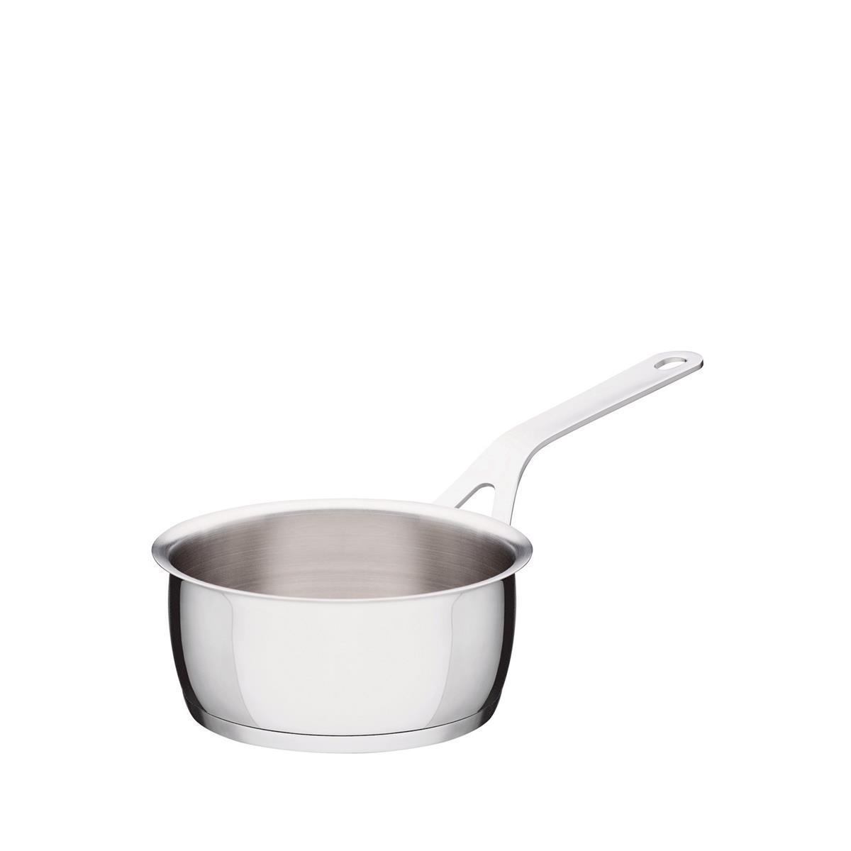Alessi-Pots&Pans Casseruola in acciaio inox 18/10 adatto a induzione