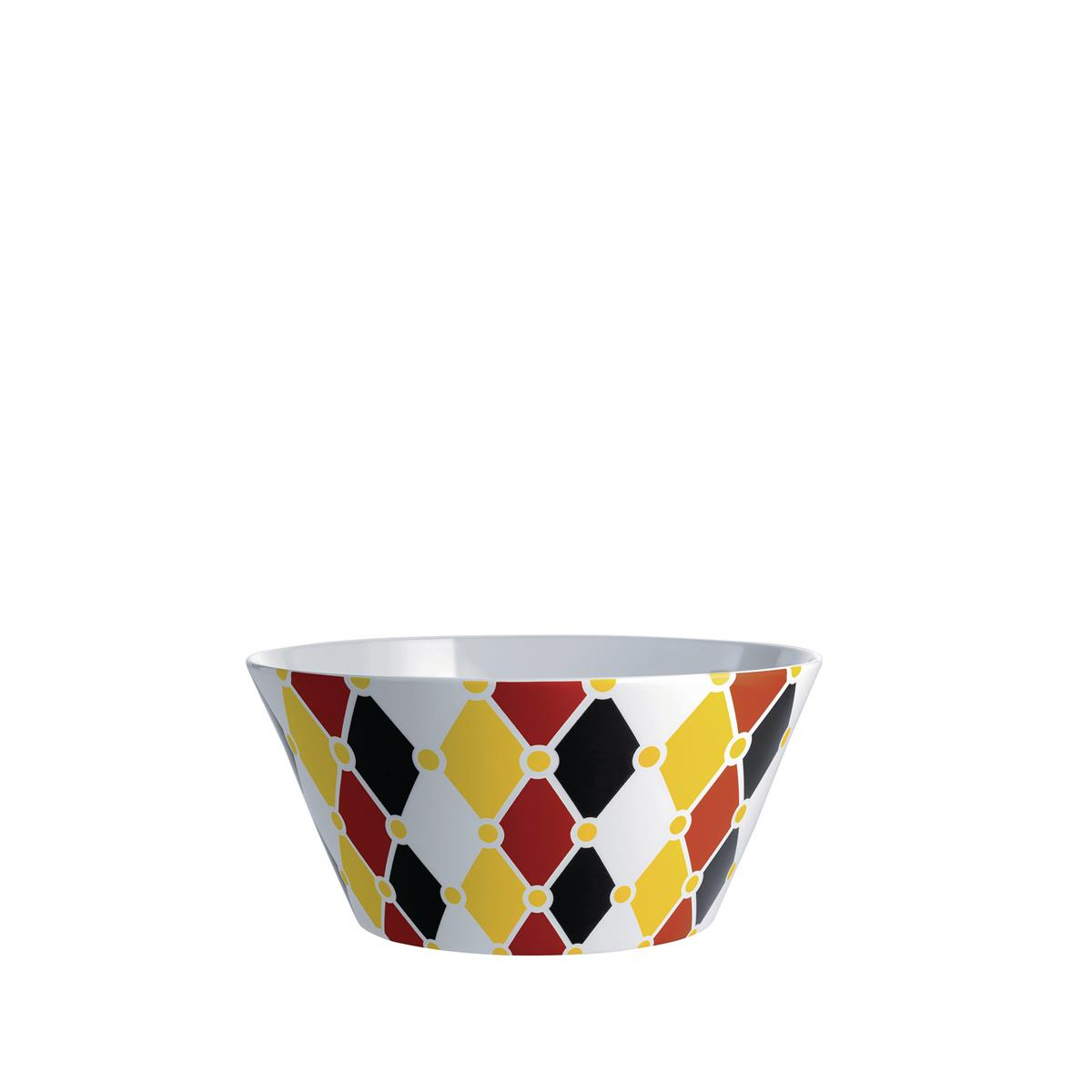 Alessi-Circus Insalatiera in bone china decorata