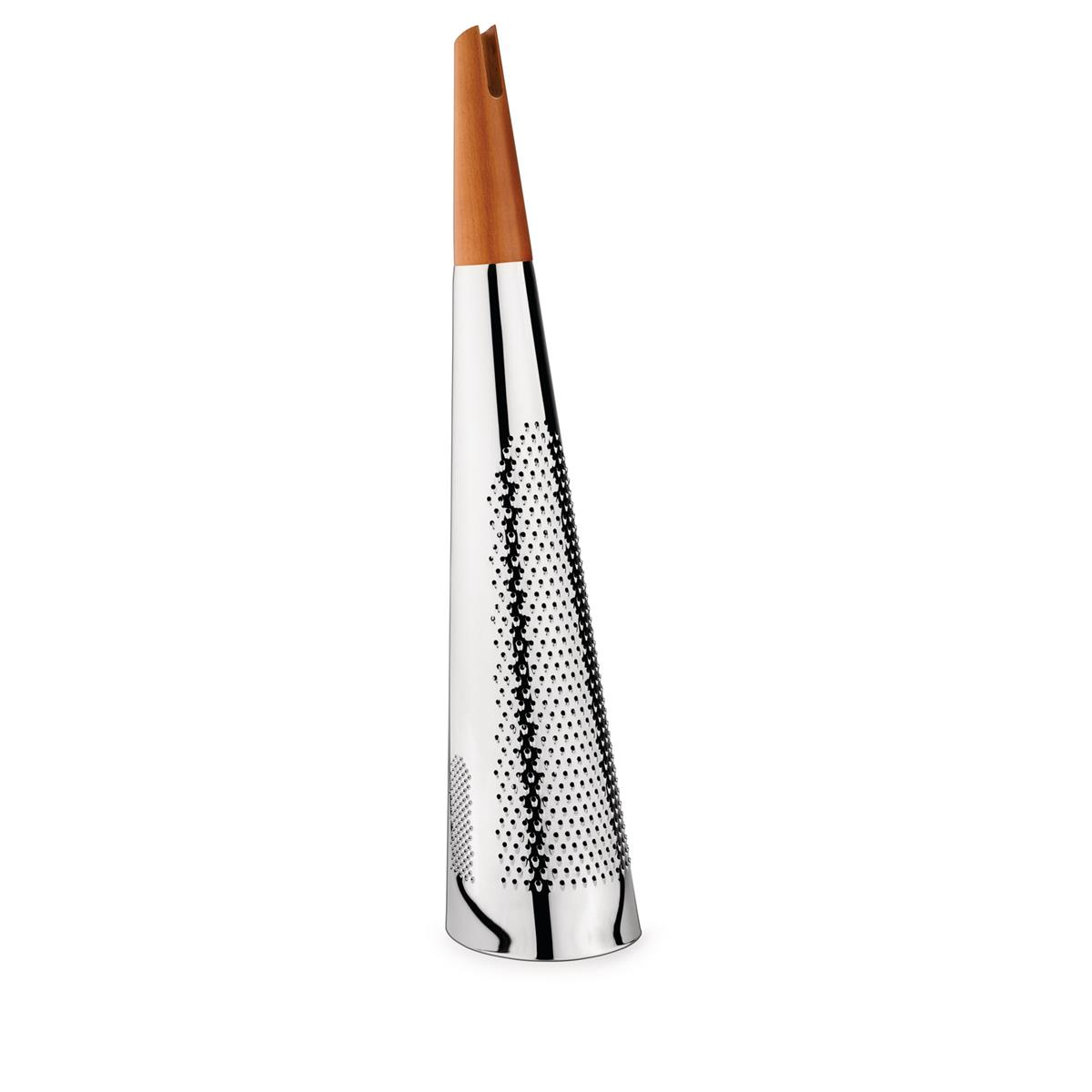 Alessi-Todo Giant grater for cheese and nutmeg in steel and wood