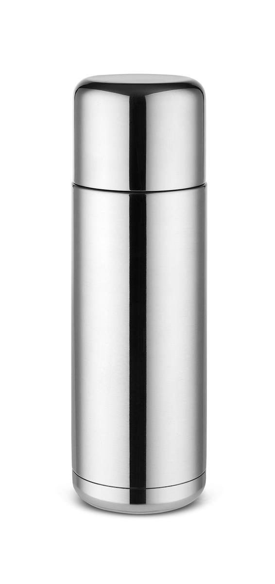 Alessi-Nomu Double wall thermos in 18/10 stainless steel and thermoplastic resin
