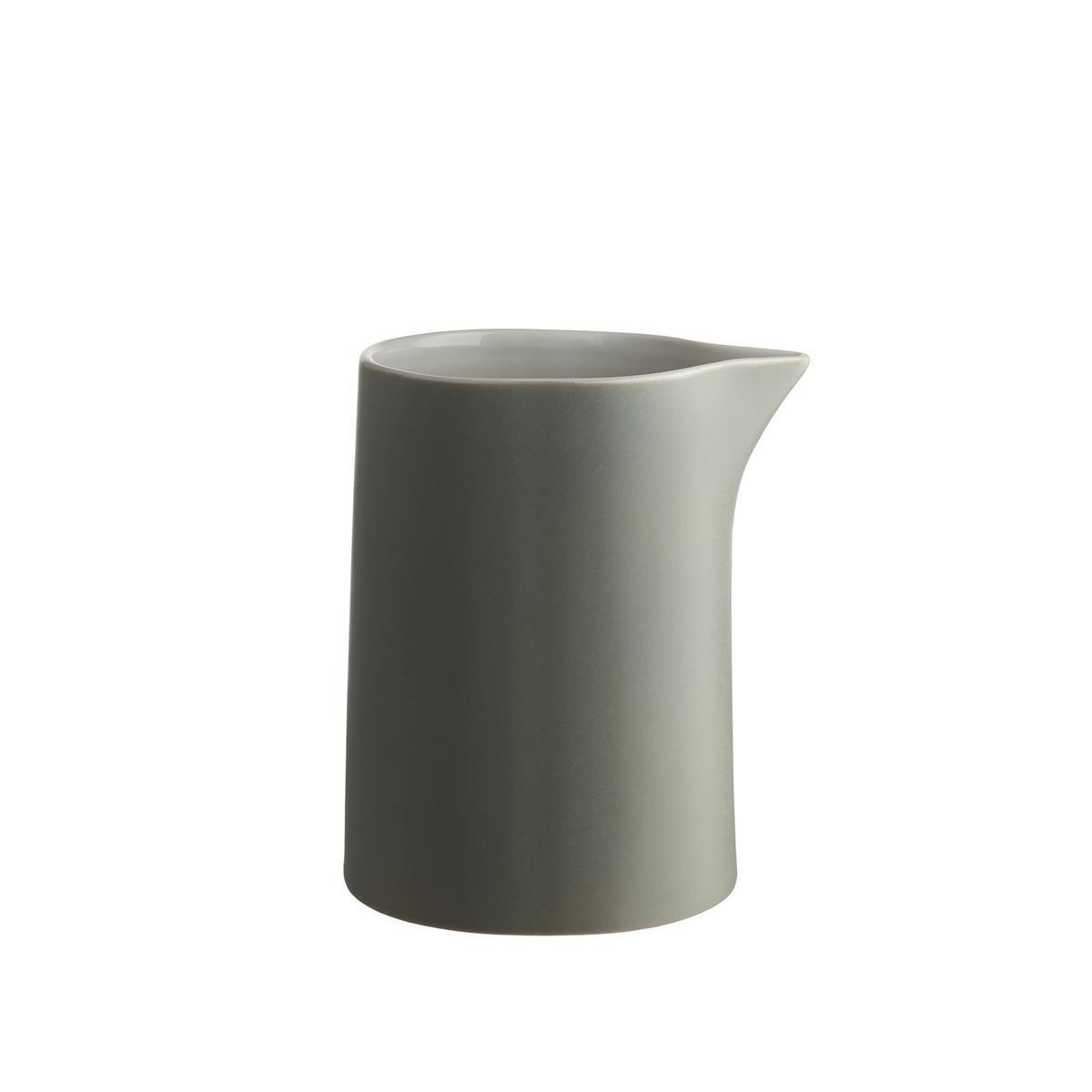 Alessi-Tonale Carafe in stoneware ceramic, Light Gray