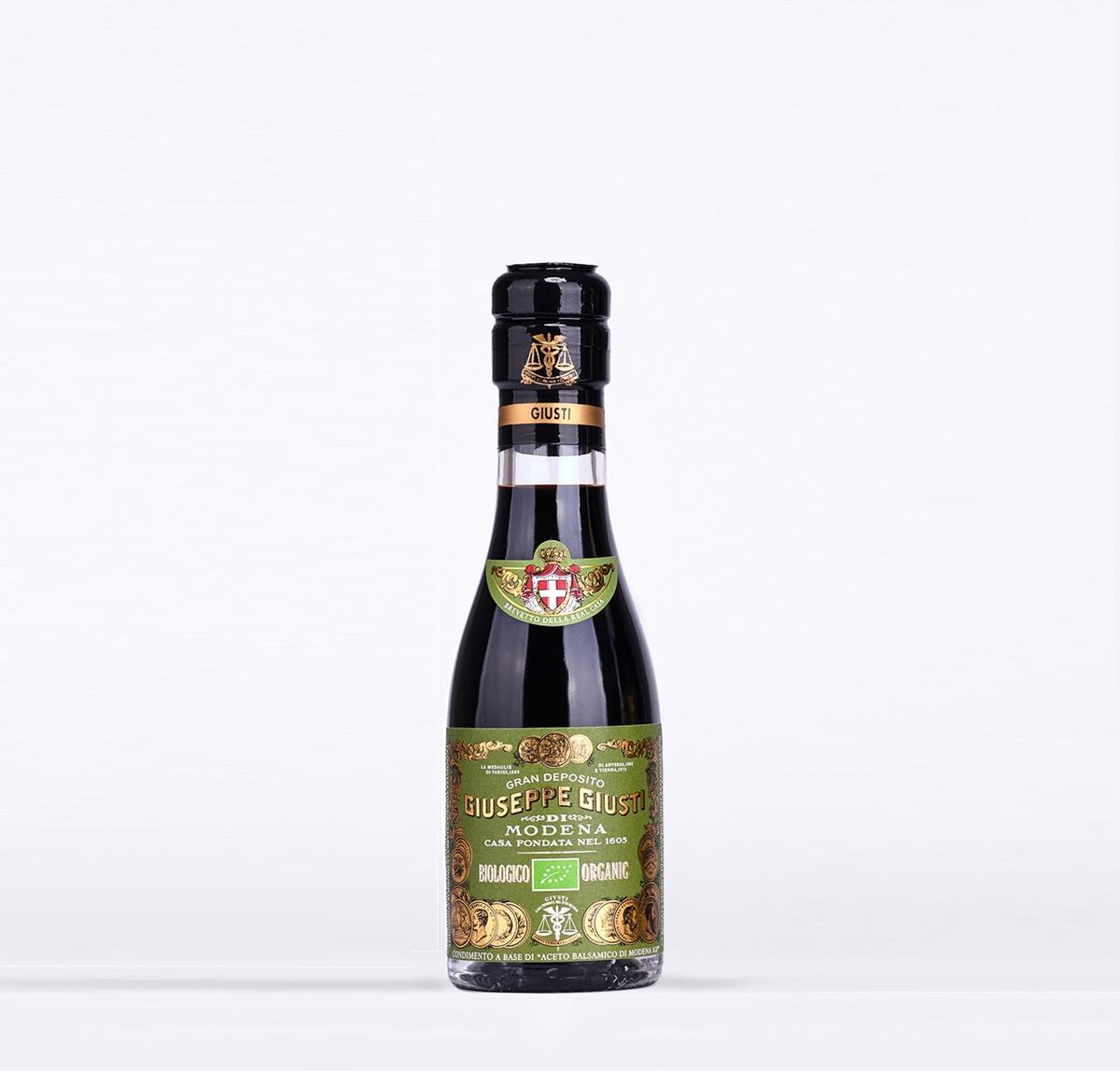 Aceto Balsamico di Modena IGP - Biologico 3 Medaglie d'Oro - Champagnottina da 100 ml