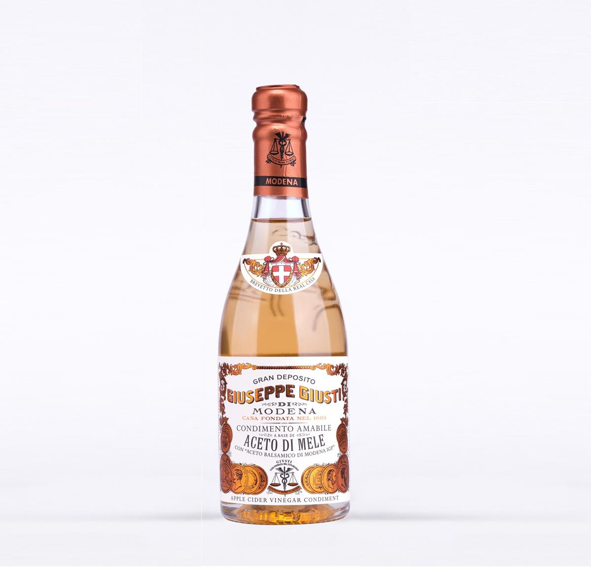 Amabile condiment based on Apple Vinegar and Balsamic Vinegar of Modena 250 ml