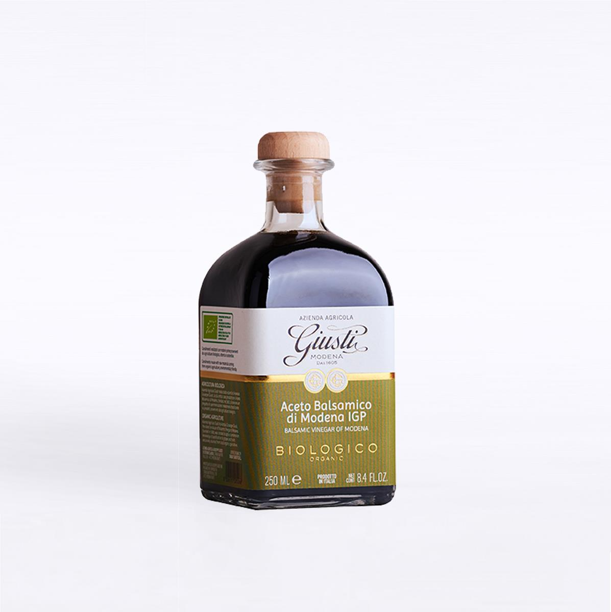 photo Aceto Balsamico di Modena IGP - Biologico - 2 Sigilli - 250 ml