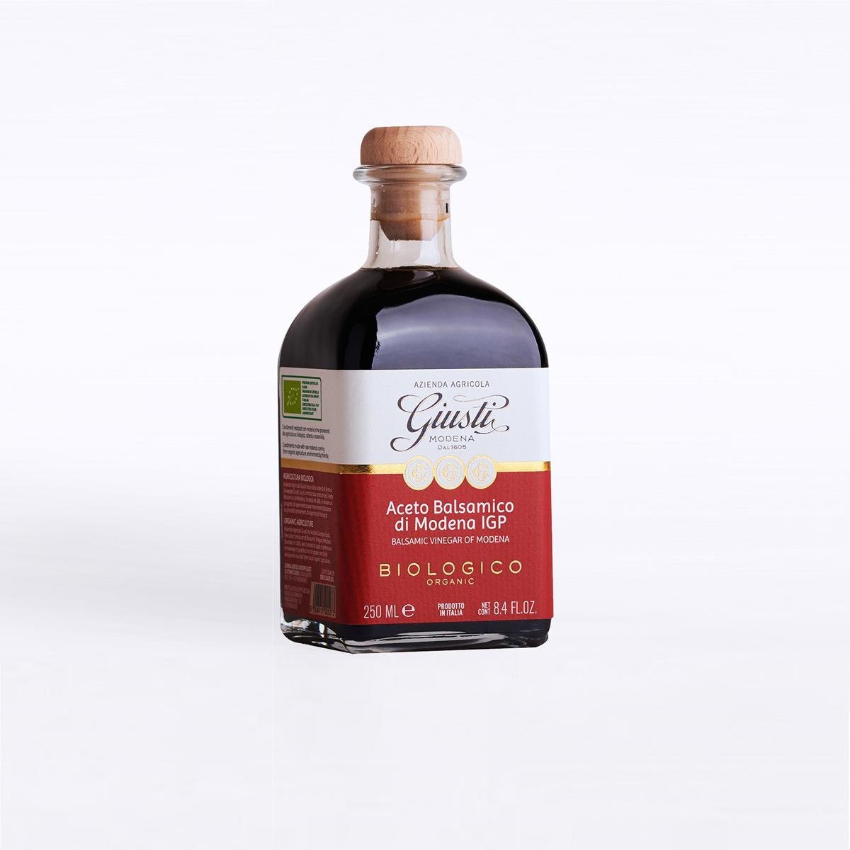 Aceto Balsamico di Modena IGP - Biologico - 3 Sigilli - 250 ml