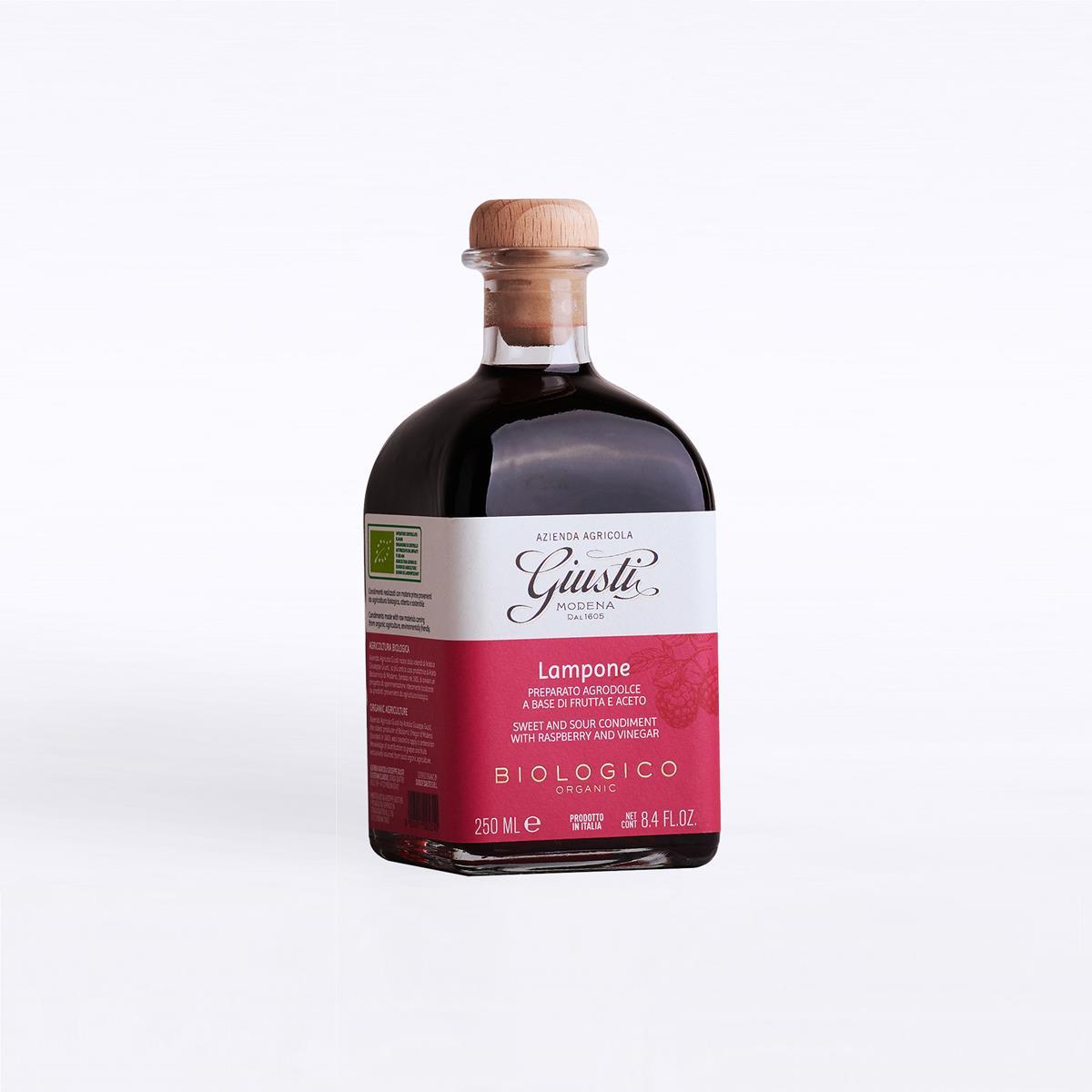 Agrodolci a base di frutta e aceto - Biologico - Lampone 250 ml