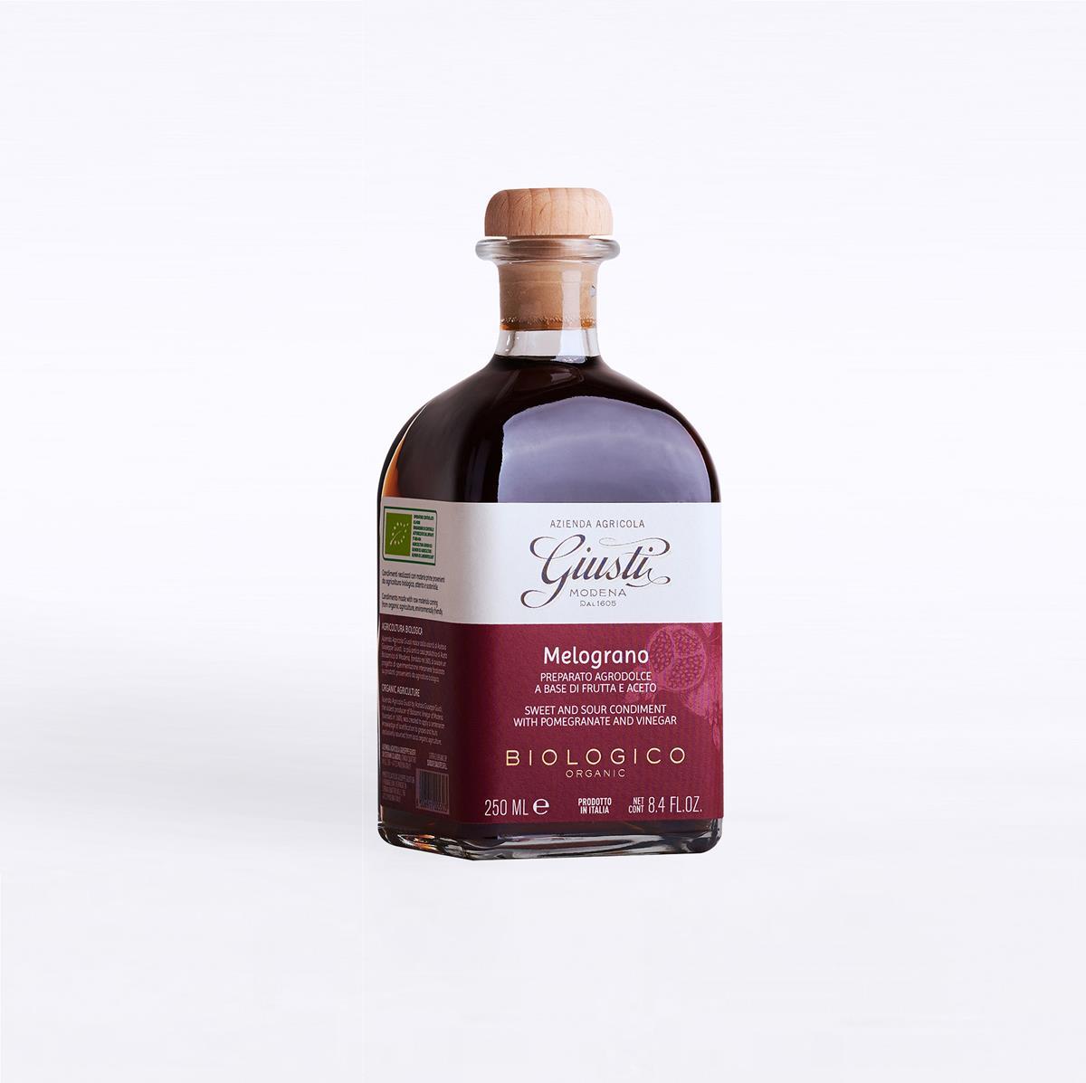 Agrodolci a base di frutta e aceto - Biologico - Melograno 250 ml