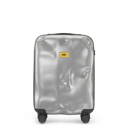 Trolley Icon Line - Cabin Baggage - 4 Wheels - 40 Liters - Metal Silver