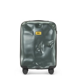 Trolley Icon Line - Cabin Baggage - 4 Wheels - 40 Liters - Metal Green