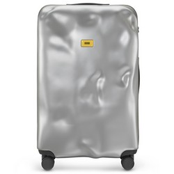 Trolley Icon Line - Large Baggare - 4 Wheels - 100 Litres - Metal  Silver