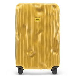 Trolley Stripe Line - Large Baggage - 4 Wheels - 100 Litres - Yellow