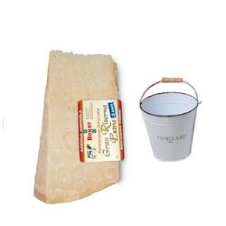 Parmesan Cheese Bonat 1KG aged 24 months +  rounded ice bucket included
