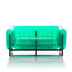 Mojow Inflatable Sofa with Metal Structure - Sofa YOMI Line - Green