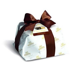 Handmade Sicilian Panettone with Chocolate - 1 Kg