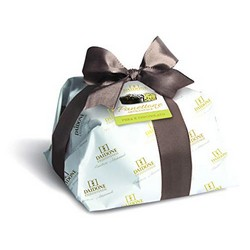 Handmade Sicilian Panettone with Pears and Chocolate - 1 Kg