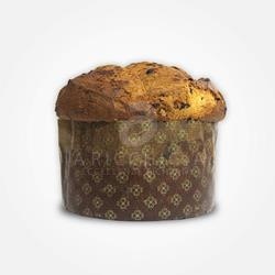 A' Ricchigia - Homemade Panettone with Chocolate - 750 gr