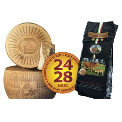 I Sapori delle Vacche Rosse Cheese Vacche Rosse Eighth Wheel - 24/28 Months - 5 Kg Approximately