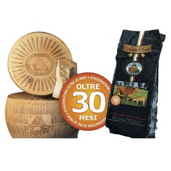 I Sapori delle Vacche Rosse Cheese Vacche Rosse Half Wheel -  Over 30 Months - 18 Kg Approximately