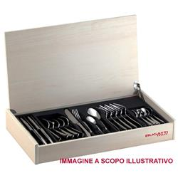 BUGATTI Flatware Set Model OXFORD (posata placcata oro 24kt) -  modello Oxf