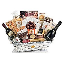 Christmas Gift Basket MAJESTIC - 14 Enogastronomic specialties