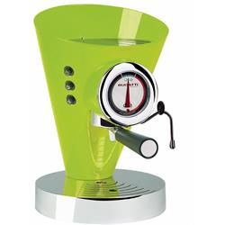 BUGATTI Diva Evolution - Espresso and Cappuccino Coffee Machine - Green