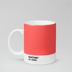 PANTONE™ Porcelain Mug - 375 ml - Living Coral 16-1546 - Set of 4 Pieces