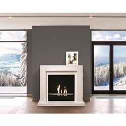 Tecno Air System Floor BIO-FIREPLACE - Udine - White
