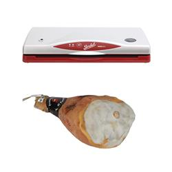 Vacuum machine + Parma Ham with Bone