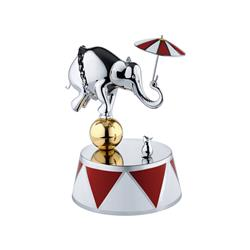 Alessi-Ballerina Music box in 18/10 stainless steel Limited series of 999 numbered pieces