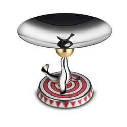 Alessi-The Seal Stand in 18/10 stainless steel Limited series of 999 numbered pieces