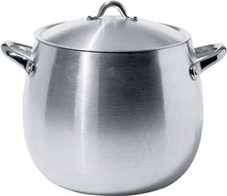 Alessi-Mami Aluminum pot with lid Not suitable for induction