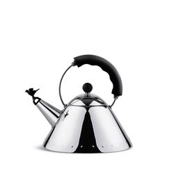 Alessi-Kettle in 18/10 stainless steel suitable for induction