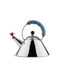 Alessi-Kettle in 18/10 polished stainless steel suitable for induction