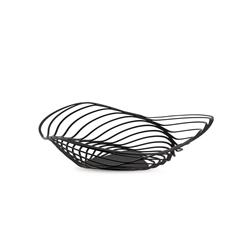 Alessi-Trinity Centerpiece in steel colored with epoxy resin, black
