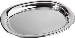 Alessi-Serving plate in 18/10 stainless steel