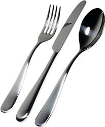 Alessi-Nuovo Milano Cutlery set in 18/10 stainless steel